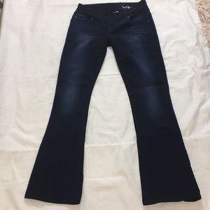 Gap Maternity Dark wash Skinny Boot Jeans  Sz 27/4